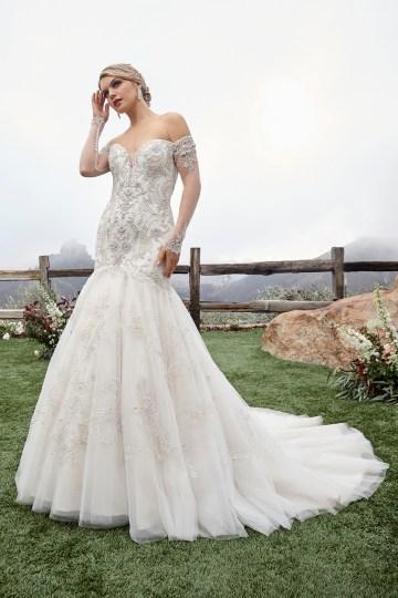 Casablanca Bridal Off-the-shoulder Wedding Dresses – Bridal Musings – 2423 – Gabrielle 2
