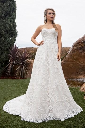 Casablanca Bridal Off-the-shoulder Wedding Dresses – Bridal Musings – 2433 – Taylor 2
