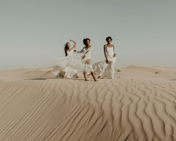 Desert Sand Dune Wedding Inspiration with Natural Hair Ideas for Black Brides – Tor Hawley – The LAW Bridal 2