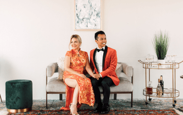Chinese & Western Foodie Wedding With An Affogato Dessert Station