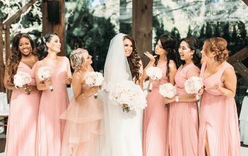 Gorgeous Persian & Indian Calamigos Ranch Wedding