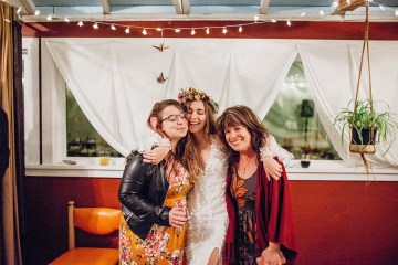 Pacific Northwest Rock and Roll Beach Wedding at The Funky Souwester Lodge – Claire Eliza Wedding Photography – Christina Castello and Drew Pull – Alexandra Grecco Dylan Gown 21