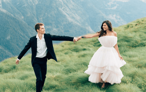 We Want To Elope In The Italian Alps Thanks To This Bridal Shoot