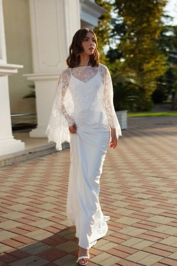 Feminine Simple Minimalistic Wedding Dresses by Mila Bridal 2020 2021 – Bridal Musings 35
