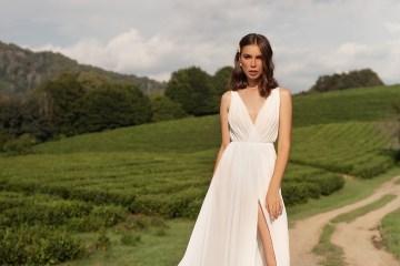 Feminine Simple Minimalistic Wedding Dresses by Mila Bridal 2020 2021 – Bridal Musings 57