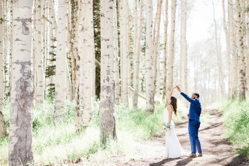 Intimate Enchanting Forest Elopement in Park City Utah – Gabriella Santos Photography 1