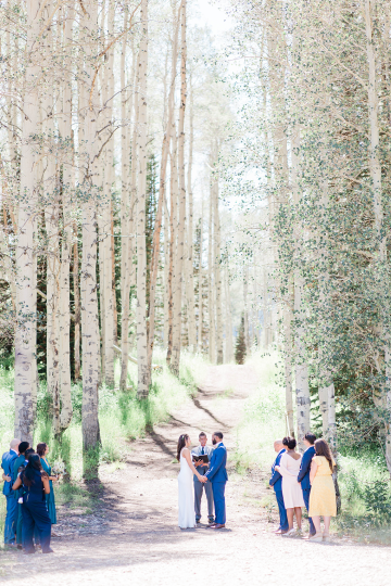 Intimate Enchanting Forest Elopement in Park City Utah – Gabriella Santos Photography 18