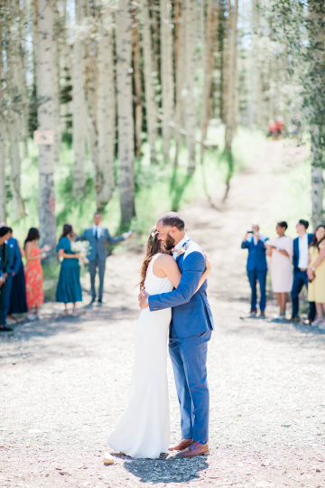Intimate Enchanting Forest Elopement in Park City Utah – Gabriella Santos Photography 25
