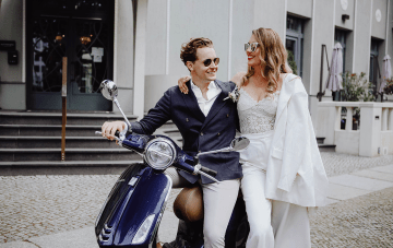 Chic Elopement Inspiration From The Streets Of Berlin