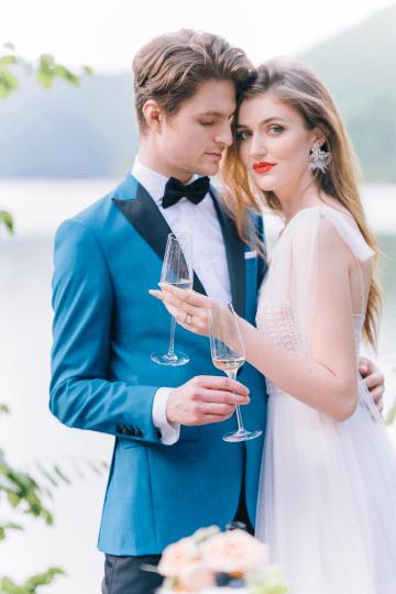 Beautiful and Ethereal Romanian Wedding Inspiration at Tarnita Lake – Ioana Porav Photography 47