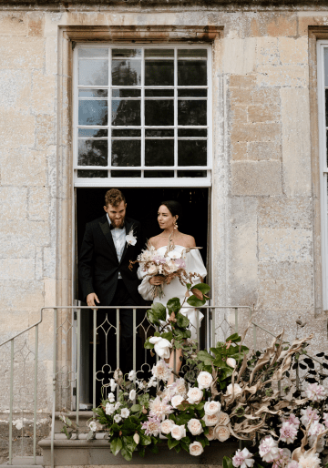 Fashion-forward Countryside Wedding Inspiration – Elmore Court – Laura Martha Photography 20