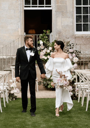 Fashion-forward Countryside Wedding Inspiration – Elmore Court – Laura Martha Photography 22