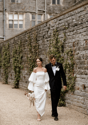 Fashion-forward Countryside Wedding Inspiration – Elmore Court – Laura Martha Photography 35