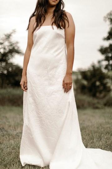 Modern and Fashion Forward 2021 Wedding Dresses by The LAW Bridal – Alex Detail