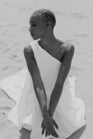 Modern and Fashion Forward 2021 Wedding Dresses by The LAW Bridal – Anderson Neckline