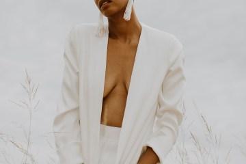 Modern and Fashion Forward 2021 Wedding Dresses by The LAW Bridal – Ezra Jacket