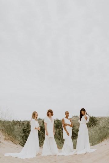 Modern and Fashion Forward 2021 Wedding Dresses by The LAW Bridal – LAW2021