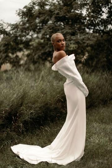 Modern and Fashion Forward 2021 Wedding Dresses by The LAW Bridal – Olsen Back