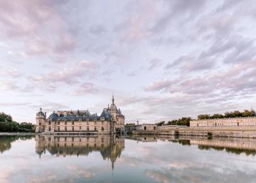 Princess Wedding Inspiration from France – Chateau Chantilly – Elizaveta Photography 11