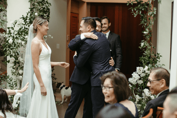 Stunning Intimate Elopement at Home – Gipe Photography 13