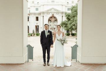 Stunning Intimate Elopement at Home – Gipe Photography 2