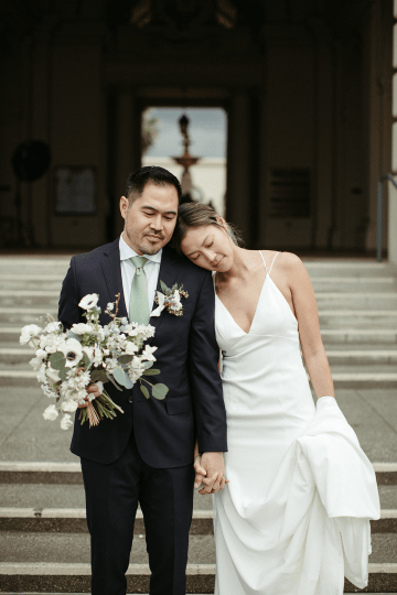 Stunning Intimate Elopement at Home – Gipe Photography 38