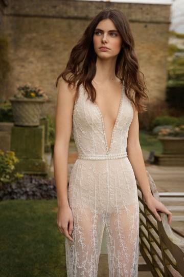 Stunning New 2021 Gala X Wedding Dresses by Galia Lahav – Bridal Musings – G-514-Bodice&Pants