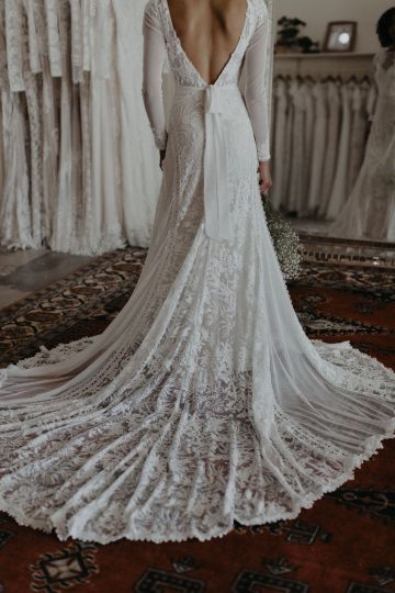 Dreamers and Lovers New Bohemian Wedding Dresses and LA Flagship Bridal Salon – Bridal Musings – Esther Boho Wedding Dress 4