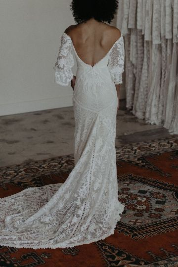 Dreamers and Lovers New Bohemian Wedding Dresses and LA Flagship Bridal Salon – Bridal Musings – Naomi Boho Wedding Dress 2