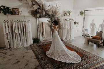 Dreamers and Lovers New Bohemian Wedding Dresses and LA Flagship Bridal Salon – Bridal Musings – Ruth Boho Wedding Dress 2