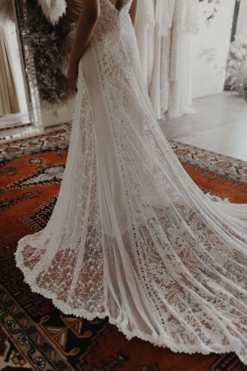 Dreamers and Lovers New Bohemian Wedding Dresses and LA Flagship Bridal Salon – Bridal Musings – Ruth Boho Wedding Dress 3
