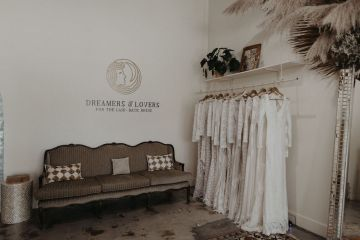 Dreamers and Lovers New Bohemian Wedding Dresses and LA Flagship Bridal Salon – Bridal Musings – Venice Showroom Interior 4