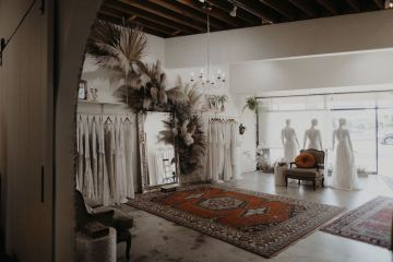 Dreamers and Lovers New Bohemian Wedding Dresses and LA Flagship Bridal Salon – Bridal Musings – Venice Showroom Interior 6