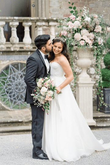 Fairytale Royal English Wedding Inspiration at Clearwater Castle – Sara Cooper Photography – Smitten Weddings 52