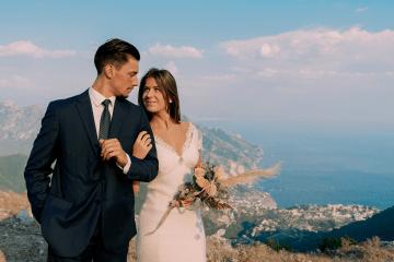 Intimate Cliffside Ravello Italy Microwedding – Enrico Capuano Photographer 13