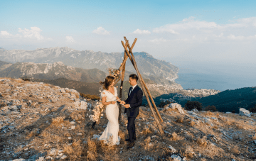 Intimate Elopement On The Cliffs Of The Amalfi Coast