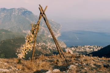 Intimate Cliffside Ravello Italy Microwedding – Enrico Capuano Photographer 6