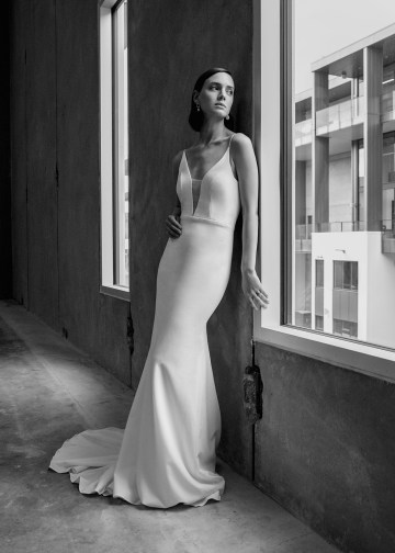 Modern Minimalist 2021 Wedding Dresses by Aesling Bride – Eunoia Dress 6