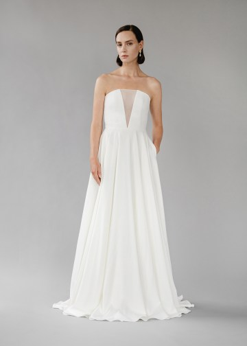 Modern Minimalist 2021 Wedding Dresses by Aesling Bride – Sonder Dress 5
