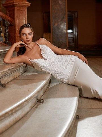 Extravagant Wedding Dresses for 2021 2022 – Val Stefani – Bridal Musings – D8271 C