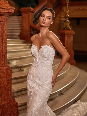 Extravagant Wedding Dresses for 2021 2022 – Val Stefani – Bridal Musings – D8273 C