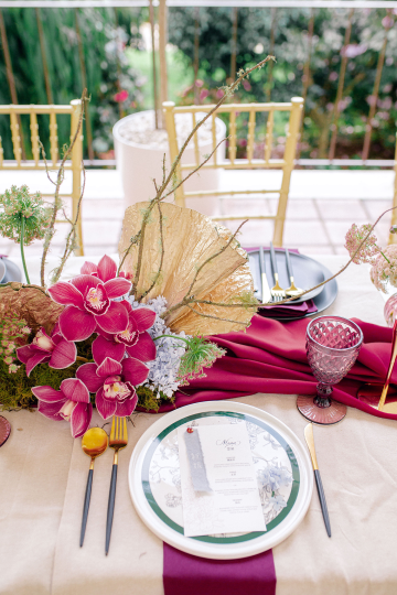 Gorgeous Chinese Tea Ceremony and Wedding Inspiration with Orchids – Clarzzique – Lilelements 57