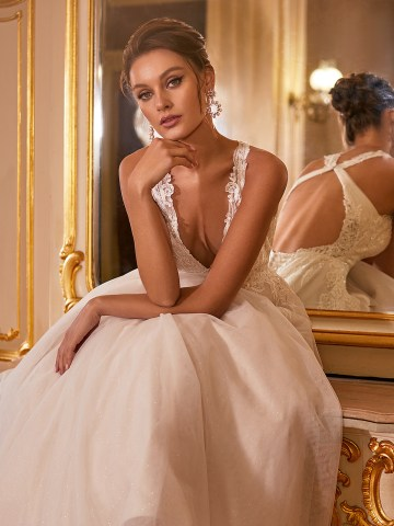 How to Plan A Luxurious Wedding At Home – Moonlight Bridal – Bridal Musings – J6825_C