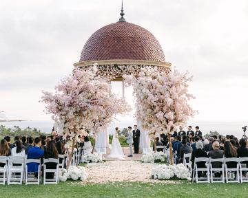 Incredible Floral Rich Pelican Hill Wedding – Brett Hickman Photography – Galia Lahav Real Bride 3