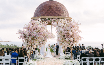 Enchanting Floral-filled Pelican Hill Wedding
