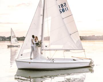 Simple Romantic Sunset Sailboat Elopement Inspiration – Lyndi Ruth Photography 33