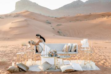 Chic Elopement in the Arabian Desert – Effleurer Photo 4