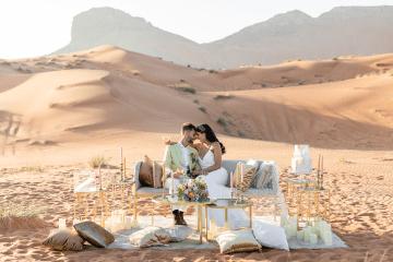 Chic Elopement in the Arabian Desert – Effleurer Photo 6