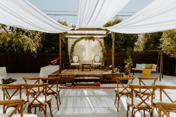 Intimate Backyard Indian Wedding – Carmelisse Photography – Leilani Weddings 11