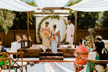Intimate Backyard Indian Wedding – Carmelisse Photography – Leilani Weddings 19